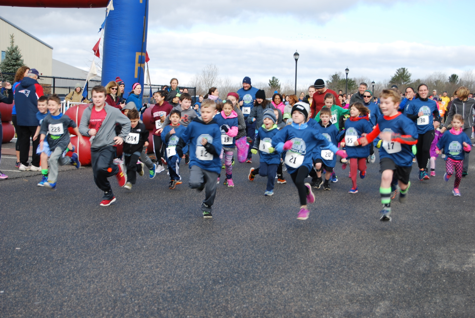 2017 1 Mile Fun Run
